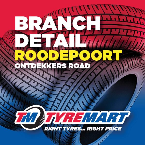 Tyremart Roodepoort - Ontdekkers Road - Welcome