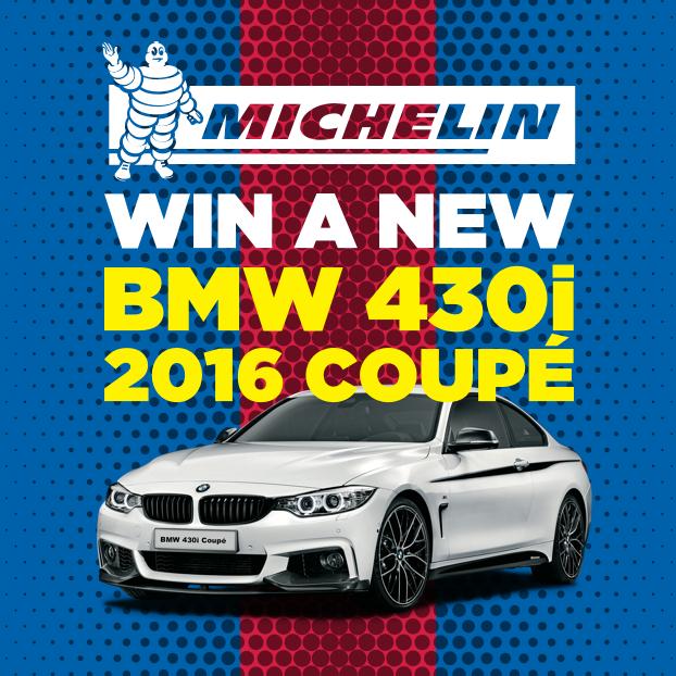 Win a BMW 430i Coupé